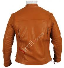 mens textile motorcycle jacket vintage cafe racer brown leather motorcycle jacket