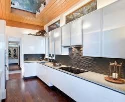 black backsplash in kitchen amazing 25 kitchen backsplash ideas black graphic wavy backsplash