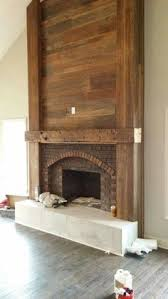 fireplace treatment rolled steel fireplaces pinterest