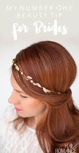 for brides my number one beauty tip for brides hair