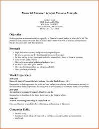 skills for financial analyst resume job resume financial analyst