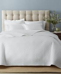Quilted Cotton Coverlet Charter Club Damask Cotton 3 Pc Quilted Coverlet And Sham