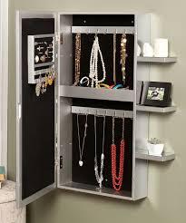 Wall Mirror Jewelry Storage 60 Best Jewelry Armoire Images On Pinterest Jewelry Armoire
