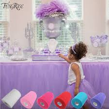 Tutu Party Decorations Aliexpress Com Buy Fengrise Tulle Roll 15cm 100 Yards Roll