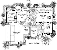 tudor mansion floor plans house plan 98539 at familyhomeplans com