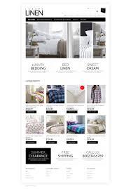 soft luxury linen opencart template 50758