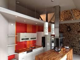cuisine couleur orange la couleur orange réinvestit la cuisine le d arthur bonnet