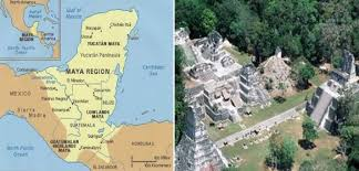 mayan empire map chachaworld the mayan empire the greatness