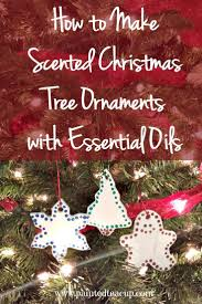 how to make scented tree ornaments