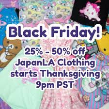 kawaiii black friday starts thanksgiving japanla