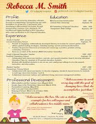 creative resume templates u0026 custom resume service for teachers