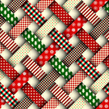 christmas patterns seamless christmas background in patchwork style interweaving