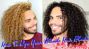 Colors To Dye Brown Hair How To Dye Color Blonde Curly Hair Black Dark Brown Yourself