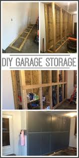 Building Wood Garage Shelves by Diy Garage Storage Cabinets Diy Garage Storage Garage Storage