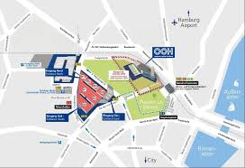 Hamburg Germany Map by Venue And Travel Aircraft Interiors Expo