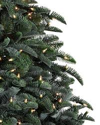 bh noble fir narrow artificial christmas tree balsam hill