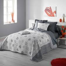 housse couette montagne couvre lit rose fushia linge de lit fantaisie housse de couette
