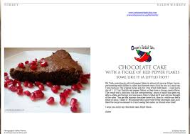 live encounters ozlem warren u2013 chocolate cake with red pepper