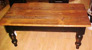 turned leg coffee table reproduction tables