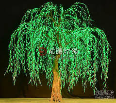 led landscape tree lights wholesale professional landscape artificial led weeping willow tree