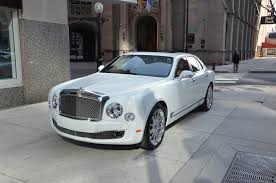 white bentley back 2013 bentley mulsanne stock b414 for sale near chicago il il