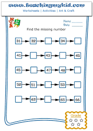 write the missing number 4 archives teaching my kid