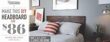 bedroom fancy how to make a wood headboard diy wide bedroom how