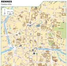 rennes map rennes maps maps of rennes