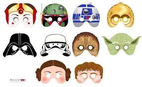 the star wars printable masks gadgetsin star wars pinterest
