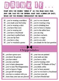 printable drinking games for adults free drink if printable game from chippendales free bachelorette