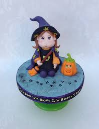 Halloween Cake Toppers Trick Or Treat Little Witch Halloween Cake Topper Cakecentral Com
