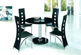 black round dining table set black round dining table glass dining sets 4 chairs black round