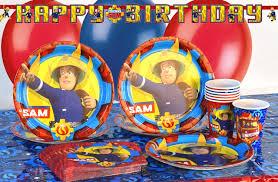 fireman sam party u0026 fireman sam birthday party supplies party pieces