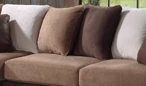 canap brun canapé d angle fixe contemporain en tissu brun sally canapé d