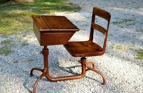 wood metal desk desk chair desk with chair attached antique wood metal