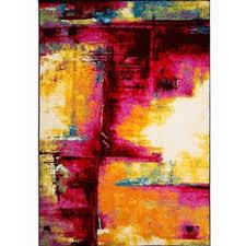 Yellow Area Rug 5x7 by Pink Rugs You U0027ll Love Wayfair