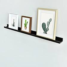 amazon com welland vista floating picture ledge display wall