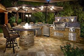 outdoor kitchen bar stools kitchen awesome outdoor kitchen design in terrace as well stone