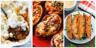 sweet potato recipes thanksgiving 30 easy sweet potato recipes baked mashed and roasted sweet