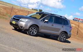 blue subaru forester 2015 2015 subaru forester 2 0d s review video performancedrive