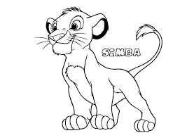 simba5 the lion king coloring page the lion king coloring pages