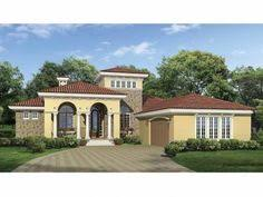 mediterranean house plan with 2494 square feet and 3 bedrooms from