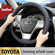 toyota corolla steering wheel cover leather car styling steering wheel cover for toyota corolla