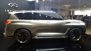 qx80 vs lexus the infiniti qx80 monograph is a private jet for the road