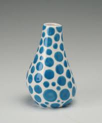 Polka Dot Vase Polka Dot Ceramics Gift Sponge