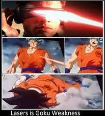 Laser Meme - lasers is goku weakness by keyblademagicdan on deviantart