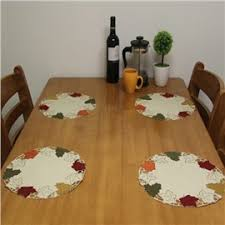 Personalized Table Placemats Buy Cheap Dining Table Mats Online - Dining room table placemats
