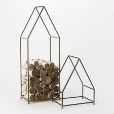 iron cabin log holder terrain
