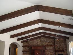 vaulted ceiling beams elevate your ceilings with faux wood beams realm of design inc