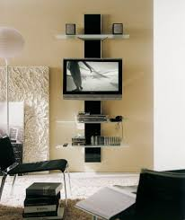 creative entertainment centers tv center mounted tv and wall
